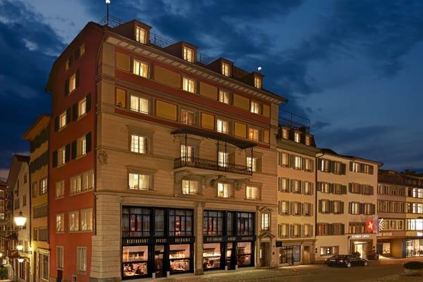 Das WIDDER HOTEL in Zürich